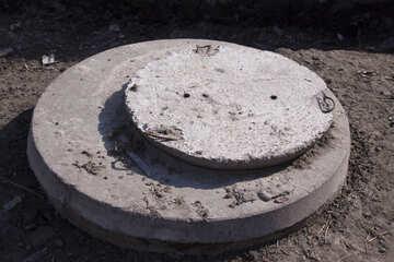 Concrete cover №1100