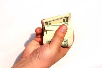 Dollar in Hand №1543