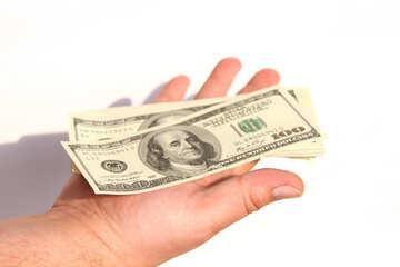 Доллары на ладони №1546