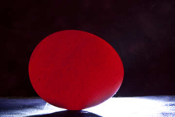 Red luminous egg №1148