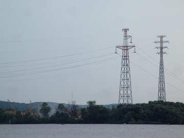 High voltage wire №1974