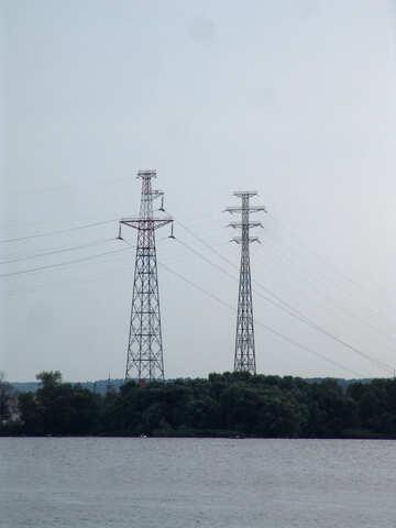 High voltage wires №1973