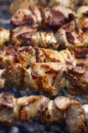 Preparation of kebab №1572