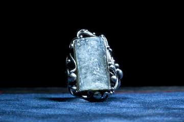 In pietra blu nella cornice antica №1321