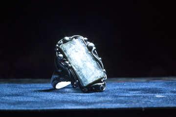 El anillo. La labor mano. La amatista.  №1315