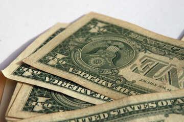 One-dollar bills №1498