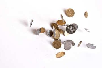 Drop hryvnia coin №1568