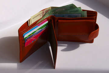 Wallet with hryvnya №1384