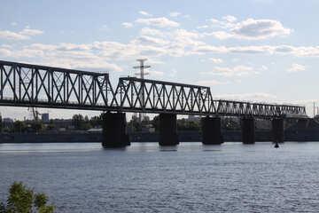 Railway bridge in Kiev №1896