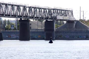 Railway Bridge. Kiev №1912