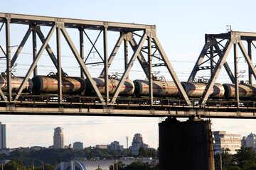 Fragment of railway bridge №1886