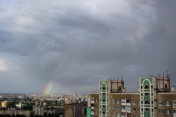 Rainbow in the big city №1686