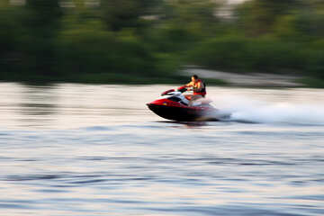 Driving on hydrocycle