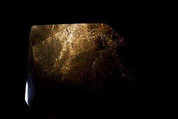 The bubbles in the stone. Morion. №1308