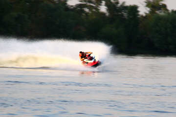 Race on personal watercraft  №1867