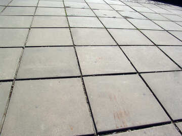 Platform of paving slabs №1296