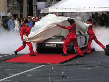 Presentation of the car of Porsche Carrera GT  №1161