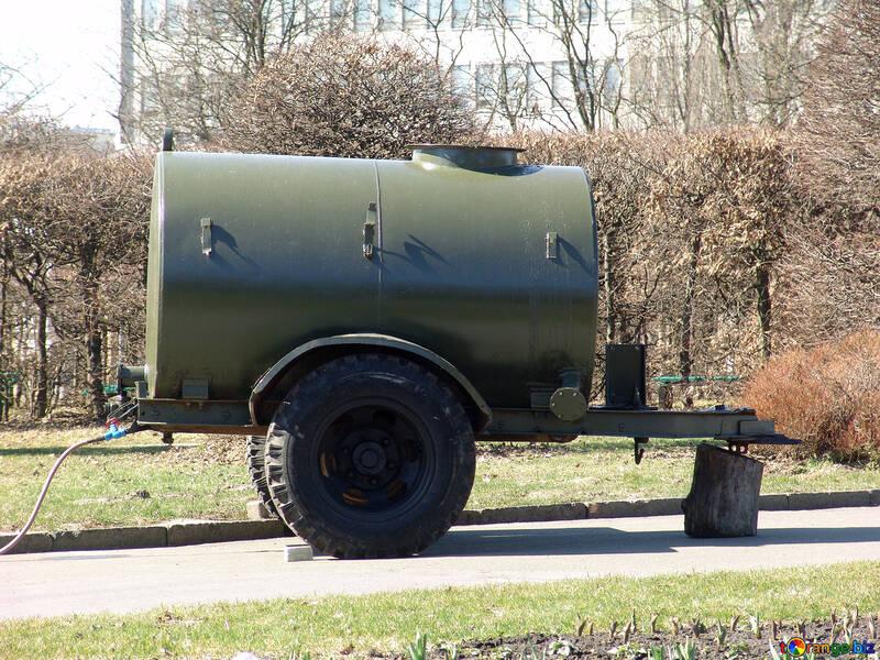Trailer tank №1348
