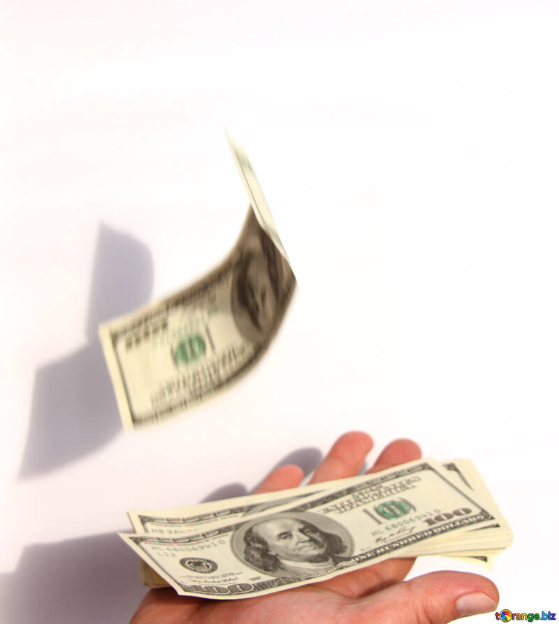 The falling dollar №1548