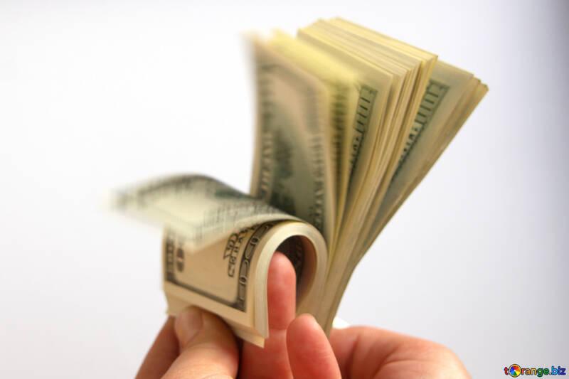 Доллары. Руки. Пальцы. №1517