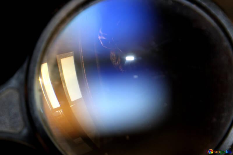 Lens. Magnifier. №1391