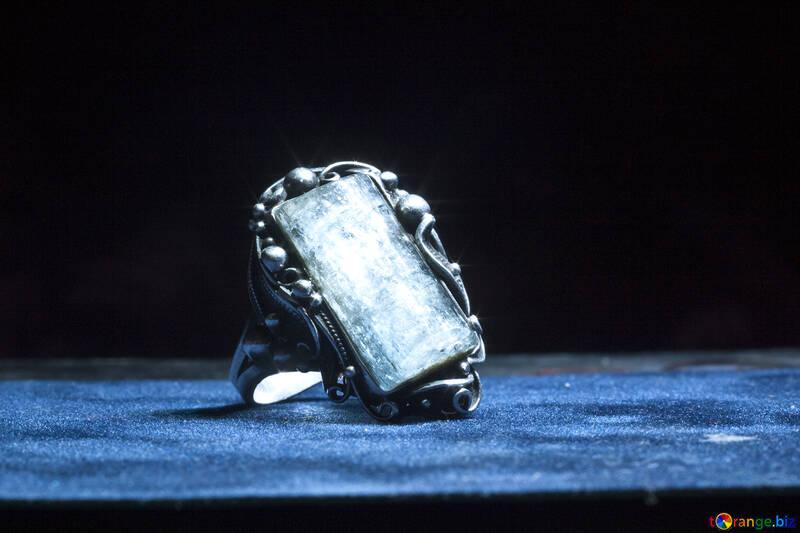Ring. Handmade. Amethyst. №1315