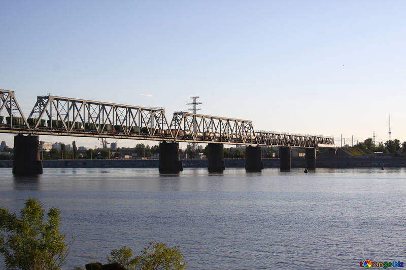 The railway bridge in Kiev №1889