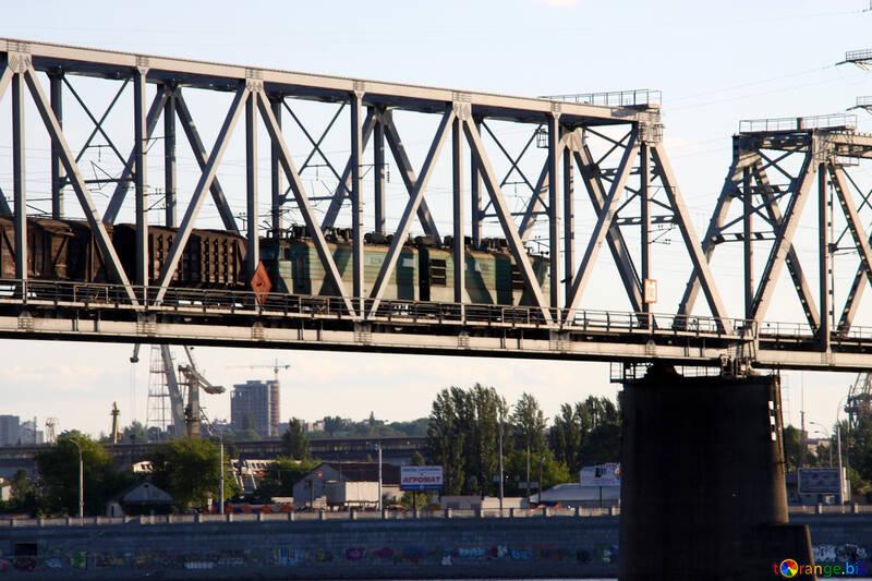 The train on the bridge №1884