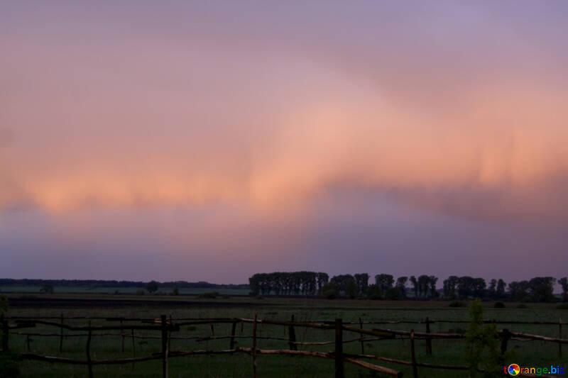 Rosa Wolken №1875