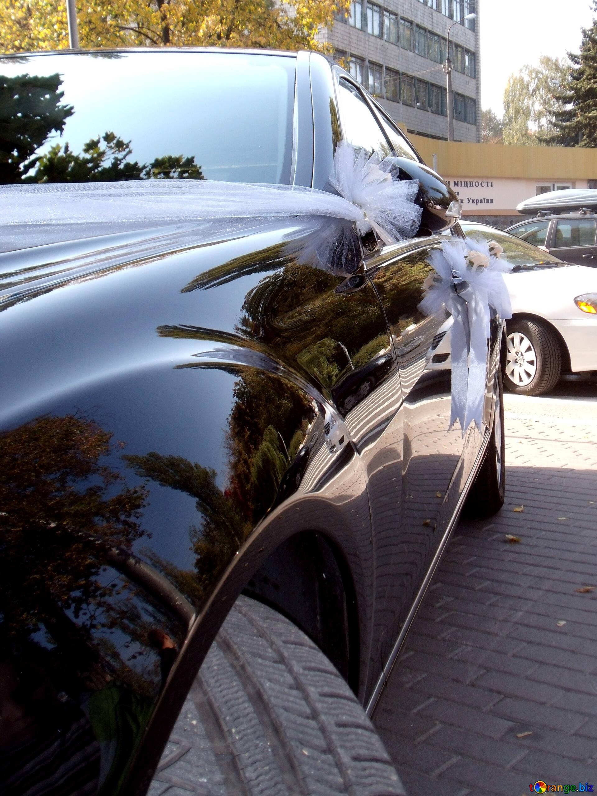Wedding Decorations For Cars Decoration Wedding Car Car 10093