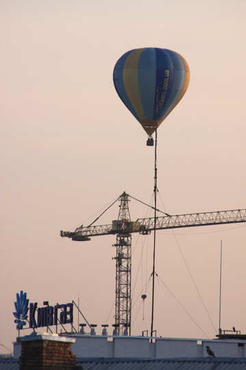 Air bballoonll of the City №10591