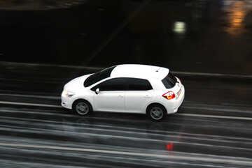 White car №10946