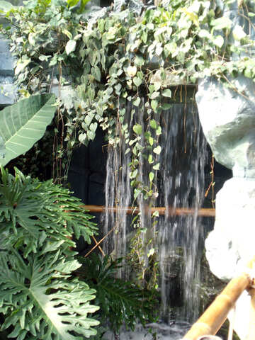 Waterfall  in interior №10719