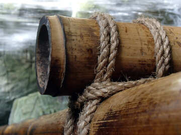 Bamboo is associated with rope №10725