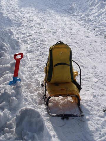 Baby  sled  №10609