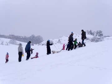 Hügel  für  Eislauf №10599