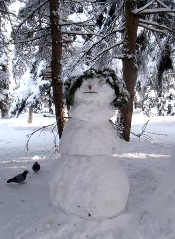 Snow  men  №10541