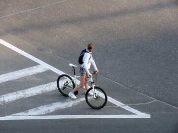 Cyclist  №10961