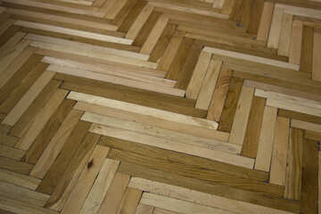 Old wood flooring №10854