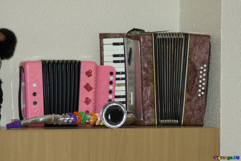 Accordion saxophone  №10844