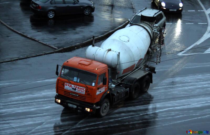 Concrete mixer  №10952