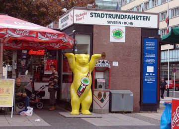 Bear symbol of Berlin №11583