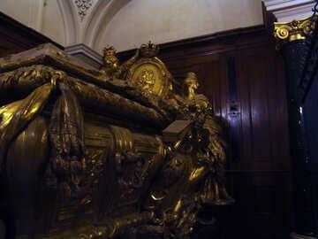 Beautiful coffin №11650