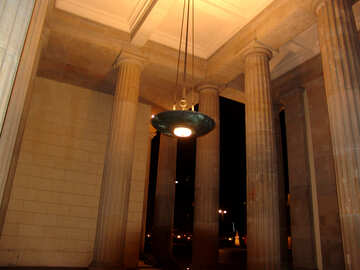 Column Hall at night №11677