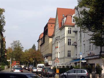 Parking on the sidewalk in Europe №11579