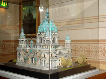 Architectural model of the cathedral №11777