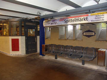 Shops in the Berlin subway №11947