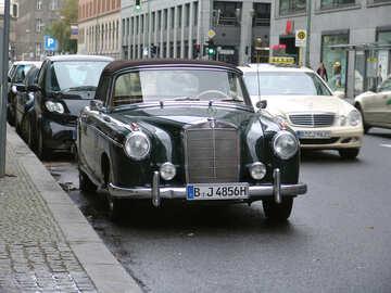 Old Mercedes №11854