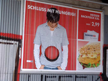 Advertising fast food №11737