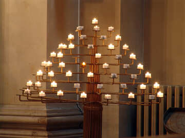Candles in church №11480